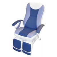 Педикюрное косметологическое кресло «Ирина» (электропривод, 2 мотора) (высота 550 - 850мм, спинка)